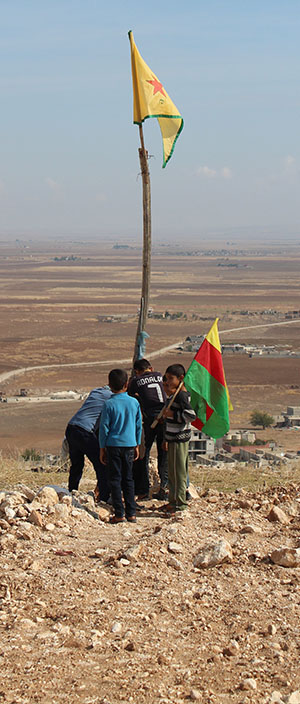 Kinder in Rojava | Foto: Delegation