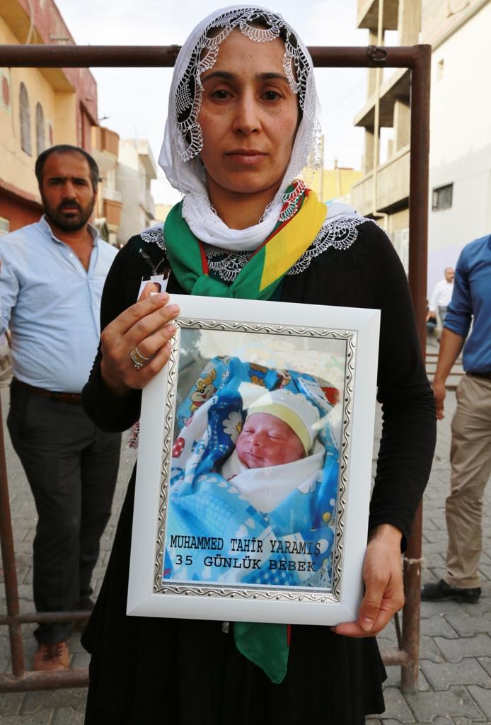 Muhammed Tahir wurde nur 35 Tage alt, als er von türkischen Sicherheitskräften in Cizîr getötet wurde